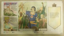 (52) Prince Valiant Sundays by Gianni & Schultz from 2008 Third Page Size 6 x 12