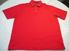 Men's Nike Tiger Woods Collection Polo Golf Shirt Fit Dry Red Size M