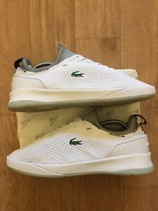 Lacoste Mens Gorgeous Sneakers Trainers Shoes White Size 8