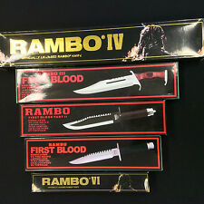 New Rambo First Blood Survival Hunting  Sharp Machete/Knife Collection Set