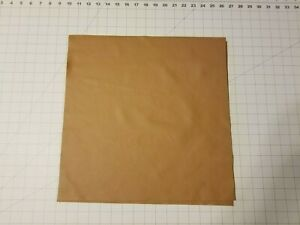 """Upholstery Leather - Saddle Brown 16"""" x 16"""" Squares"""