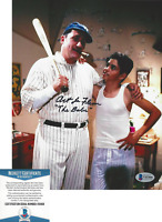 ART LAFLEUR SIGNED THE SANDLOT 'BABE RUTH' 8x10 MOVIE PHOTO E BECKETT COA BAS