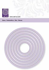 Prägeschablone ~ Stanzschablone ~ cArt-Us Kreis ~ für Big Shot - Cuttlebug NEU
