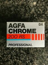 1x Agfa 200 RS Chrome Professional 35 mm slide expired film professional