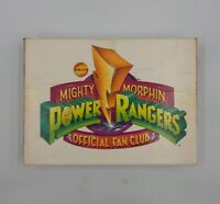 Saban's Mighty Morphin Power Rangers Official Fan Club Box (EMPTY) Box Only 1994