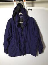Vintage Kathmandu Goretex Unisex Purple Hiking Snow Jacket Size S Long Sleeve