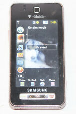 Samsung Behold SGH-T919 - Pink (T-Mobile) Cellular Phone - Parts/Repair/Broken