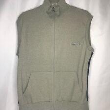 Polo Sport Ralph Lauren Mens Vest Gray With Black Stripes Size Medium