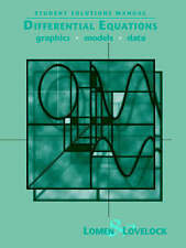 USED (VG) Student Solutions Manual to accompany Differential Equations: Graphics