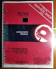 John Deere 8000 Series Grain Drill S/N 43475-52967 Owner's Operator's Manual '81