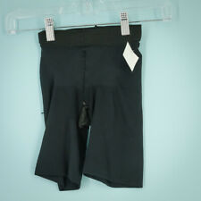 Spanx Size Small S High-Waist Mid-Thigh Super Control Shaper Black Slimming NWOT