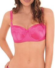 Lepel Victoria Underwired Lightly Padded Balcony Bra Pink/pink 1587040 34 E