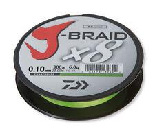Daiwa J-braid X8 Chartreuse 300 M 0 10 Mm