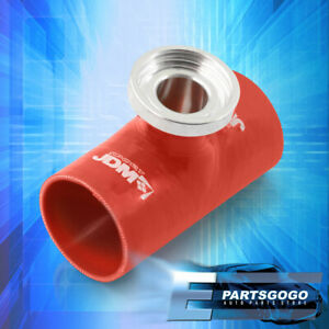 """For Focus F150 F250 Red Turbo Blow Off Valve SQV SSQV Flange 3"""" Silicone Adapter"""