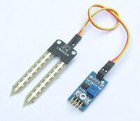 2Pcs New Soil Hygrometer Detection Moisture Sensor Module for Arduino + Probe