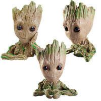 """6"""" Baby Groot Flower Holder Pot Pen Toy Succulent Planter Faceplate Shipping"""