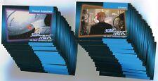 STAR TREK THE NEXT GENERATION 1992 Impel Card LOT!!! NM/M 116 Cards