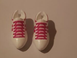 MADE TO MOVE WHITE & PINK TENNIS SHOES SNEAKERS  FOR  BARBIE