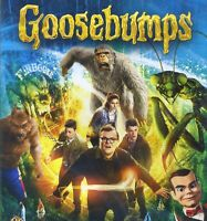 Goosebumps 2015 PG horror comedy family movie, new DVD, Jack Black, Halloween