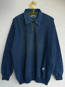 BLUE WILLI'S Pullover für Herren, Farbe Blau, Baumwolle, Größe XL, 1A Zustand