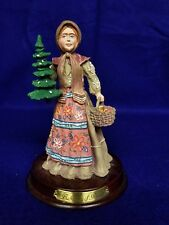 Duncan Royale History of Santa Claus Babouska Of Russia Figurine Stand and Box