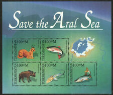 Turkmenistan Stamp - Save the Aral Sea Stamp - NH