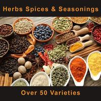 Herbs, Spices & Chilli  - Whole & Ground From Around The World Over 50 Varieties