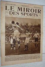 MIROIR SPORTS 1925 N°254 FOOTBALL FRANCE-AUTRICHE RIGOULOT RUGBY USAP NATATION