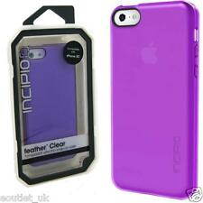 Incipio Feather Clear Transparent Case Cover for iPhone 5c Purple NEW RRP 19.99