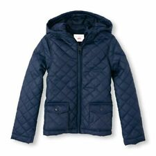The Children's Place Girls Uniform Quilted Jacket - Sizes 5T