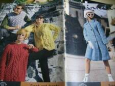 Spinnerin Fresh & Jaunty Knitting Book-Adult Styles- Dresses, Skirts, Cardigan