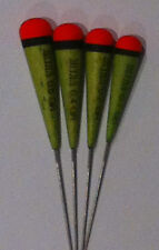 Ultra Dome Top Dibber Pole Fishing Floats - Set of 4