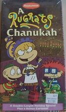 THE RUGRATS HOLIDAY CHRISTMAS CHANUKAH MOVIE ON VHS TAPE (NEW FACTORY SEALED)