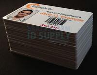Inkjet Printable PVC Cards - For Epson & Canon Inkjet Printers - 50 Pack