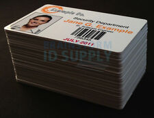 Inkjet Printable PVC Cards - For Epson & Canon Inkjet Printers - 50 Pack