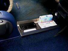 Smart Fortwo 450/1 túnel-compartimento con antideslizante-maletero en alu-look de acero inoxidable