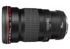 Canon 2529A015 EF 200mm f/2.8L II USM With Lens Case LP1222 & Lens Hood ET-83BII