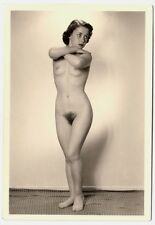 #726 Roessler nudismo/nude Woman Study * vintage 1950s Studio Photo-no PC!