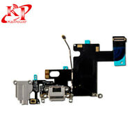 New OEM Charger Charging Port Dock Mic Flex Cable Replacement For iPhone 6 Black