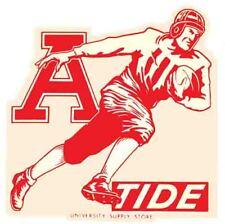 University Of Alabama   College Vintage Looking  runner  Decal Sticker  Football