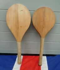 BRITISH ANTIQUE VINTAGE STOOLBALL BATS SPORTING ANTIQUES