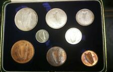 IRISH FREE STATE 1928 8 Piece coin. PROOF SET IN BOX rare
