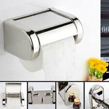 Papierhalter Toilettenpapierhalter WC Rollenhalter Klopapier Halter EdelstahlDE