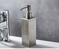 Bathroom Shower Soap Dispenser Liquid Soap Free Standing Stainless Steel Brushed