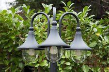 Candelabra garden path light outdoor lamp post black design lighting New 104840