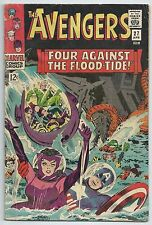 **AVENGERS #27**(APR 1966, MARVEL**SILVER AGE**STAN LEE**JACK KIRBY COVER**GD**