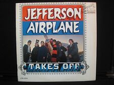 Jefferson Airplane Takes Off  RCA LPM-3584 Vinyl LP w/ Sleeve-UNCENSORED LYRICS