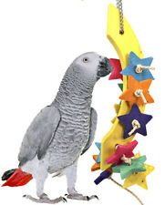 3435 Moon Chew Bird Toy parrot cage toys cages chew african grey conure macaw