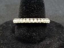 1.59 Grams Size 7.75 Scrap or Use #9 New listing 14K Gold & Pearl Wedding Band Style Ring