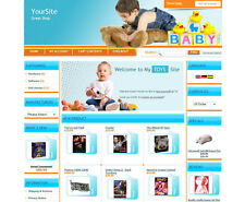 BABY STORE BUSINESS, PROFESSIONAL ECOMMERCE ONLINE STORE SHOPPING CART WEBSITE